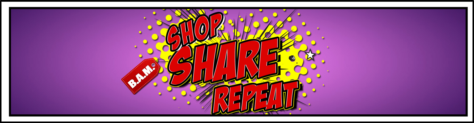 shop,share,repeat